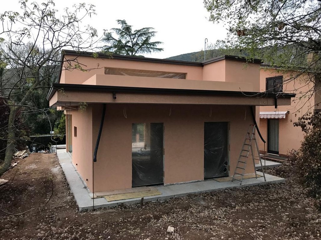Casa in Legno Perugia - zona percorso verde