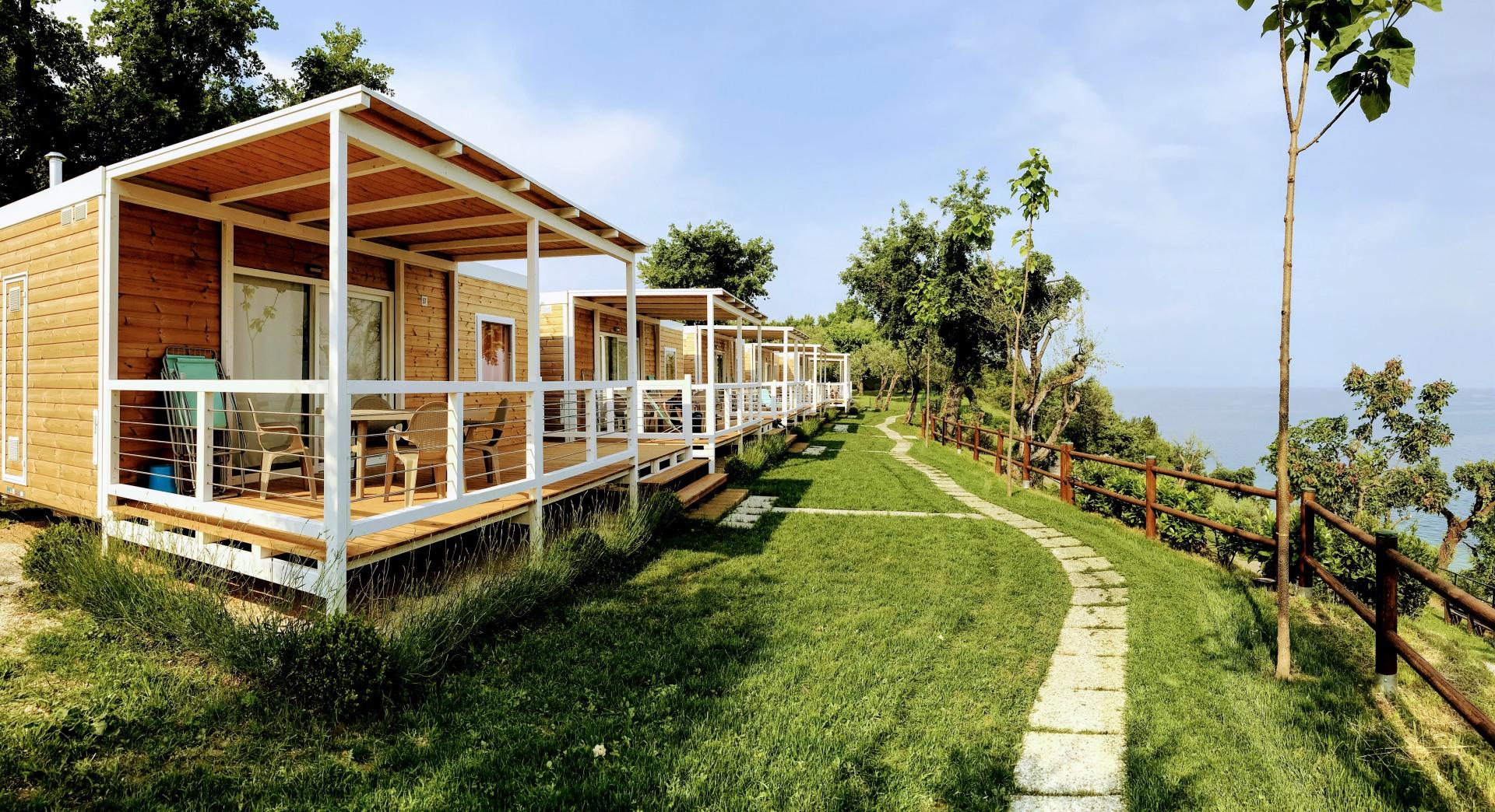 Verande per case mobili - Camping Sereno - Moniga del Garda (BS)